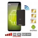 Doppia SIM bluetooth adattatore Android Quadriband Tripla active router MiFi WiFi cellulare Multi-SIM