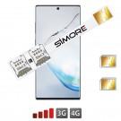 Dual SIM for Galaxy Note 10 adattatore SIMore Speed Xi-Twin Note 10