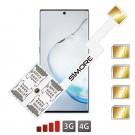 Galaxy Note 10 Multi SIM quadrupla adattatore SIMore Speed ZX-Four Note 10