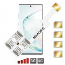 Galaxy Note 10+ Quadrupla SIM adattatore SIMore Speed ZX-Four Note 10+