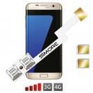 Galaxy S7 Edge Adattatore Dual SIM Android