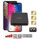 iPhone Doppia SIM Attive simultaneamente router adattatore convertitor DualSIM@home