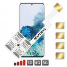 Galaxy S20 Multi Quadrupla Dual SIM per Samsung Galaxy S20