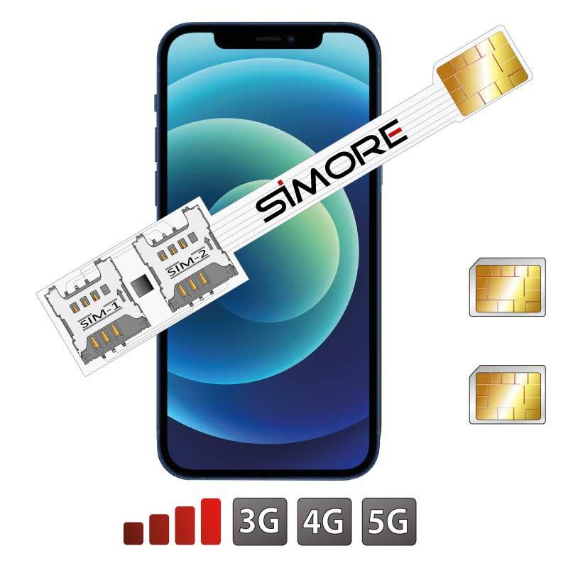 iPhone 12 Dual SIM Adaptador