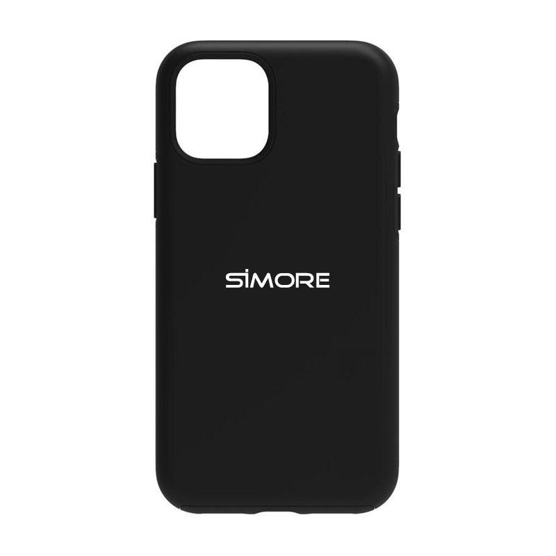 iPhone 12 Funda de protección SIMore negra