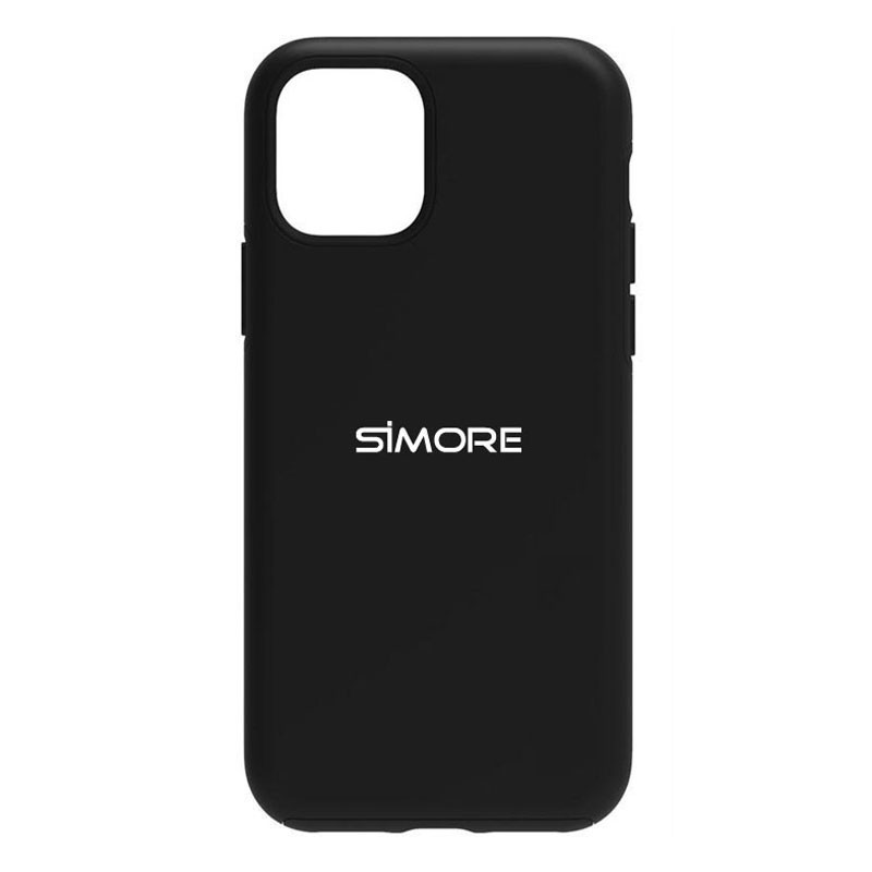 iPhone 12 Pro Max Funda de protección SIMore negra