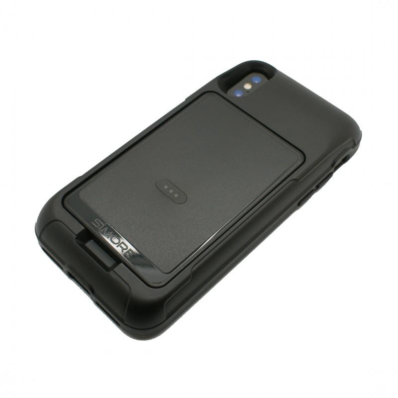 iPhone X Funda de protección para proteger y mantener su E-Clips adaptador Triple SIM Doble SIM activas y Wifi hotspot router