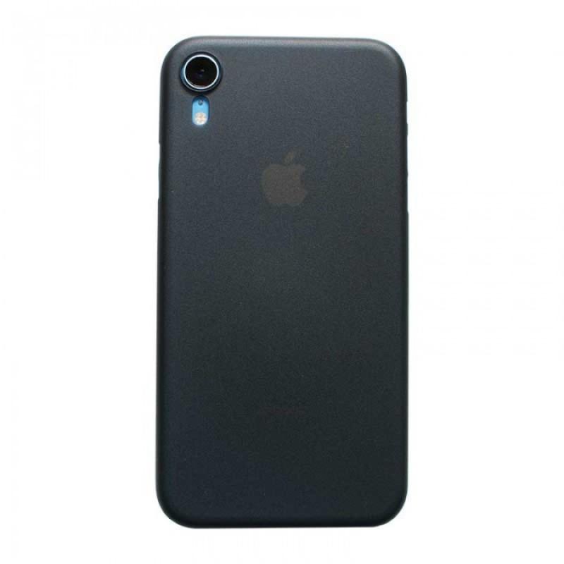iPhone XR Funda de protección SIMore negra