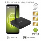 Doble SIM activas adaptador 4G router transformador para Android móvil DualSIM@home 4G Android