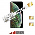 iPhone XS Max Doble SIM adaptador Speed X-Twin XS Max para iPhone XS Max