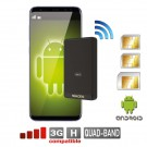 Doble SIM adaptador bluetooth Android activas Cuatri-banda router MiFi WiFi celular Multi-SIM