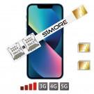 iPhone 13 Mini Doble SIM adaptador SIMore
