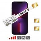 Doble SIM para iPhone 13 Pro Max - 2 tarjetas SIM en un iPhone 13 Pro Max
