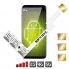 Triple SIM Android Adaptador nano sim