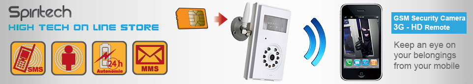 GSM camera 3G wireless remote security