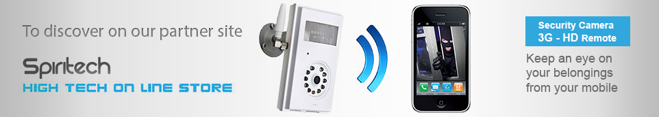 3G wireless remote security camera